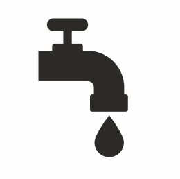 Public Water Supply Icon