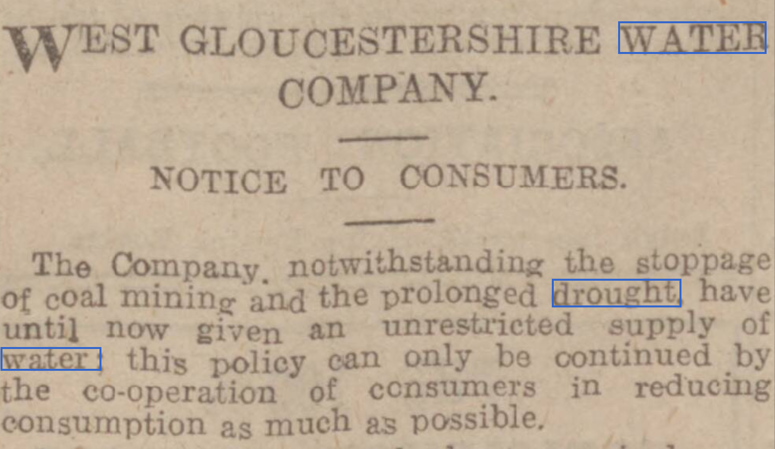 Western Daily Press, 9th July 1921, page 5.