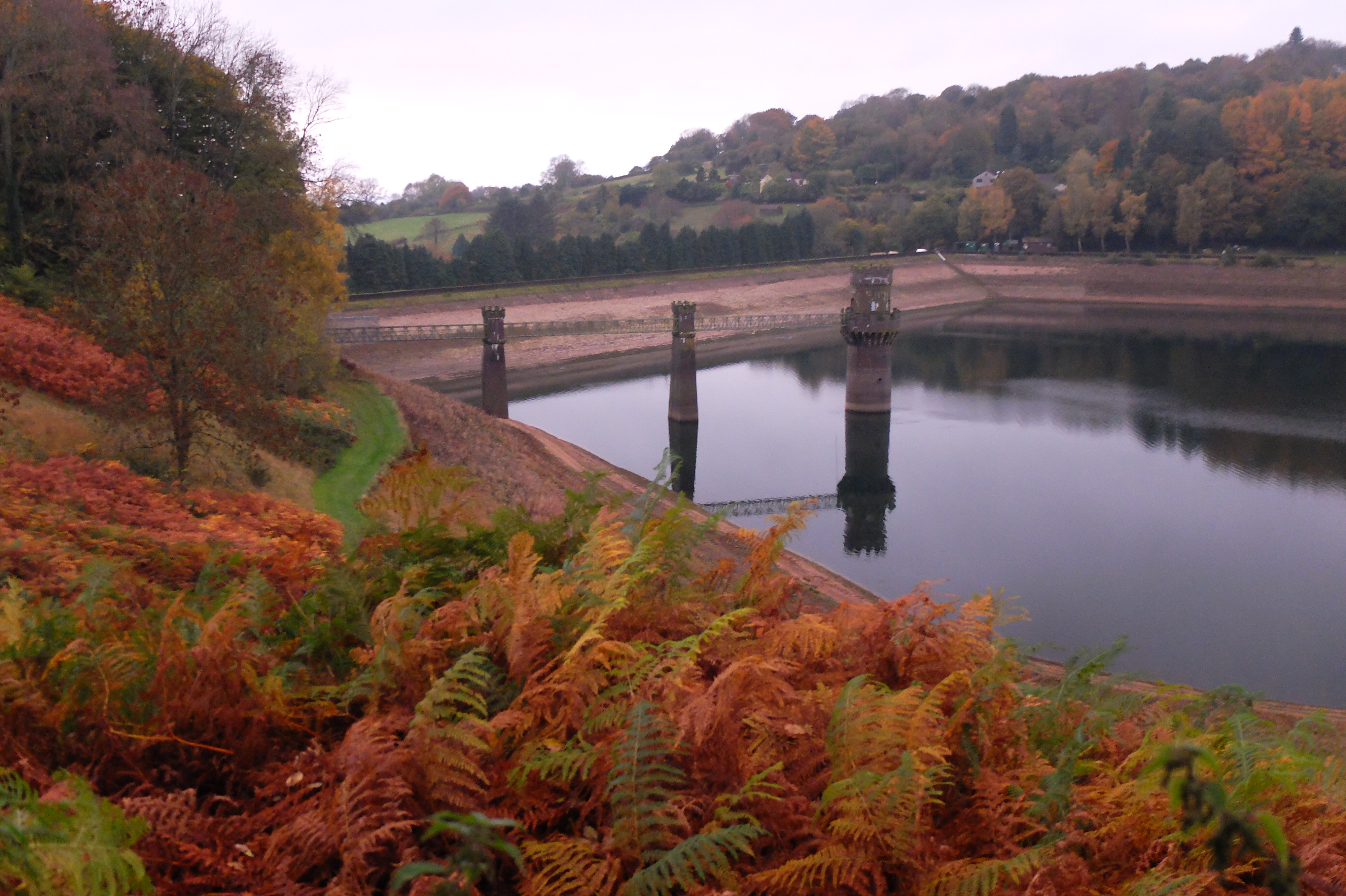 Welsh Reservoir in past drought event
